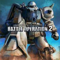 Portada oficial de Mobile Suit Gundam: Battle Operation 2 para PS4