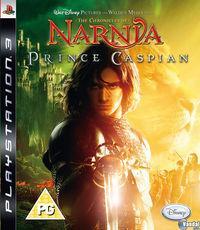 Portada oficial de Las crónicas de Narnia: El Príncipe Caspian para PS3