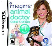 Portada oficial de Imagine Animal Doctor para NDS