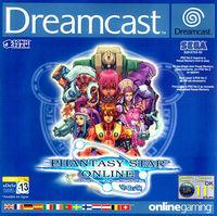 Portada oficial de Phantasy Star Online Version 2 para Dreamcast
