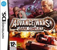 Portada oficial de Advance Wars: Dark Conflict para NDS