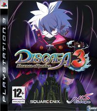 Portada oficial de Disgaea 3 para PS3
