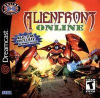 Portada oficial de Alien Front Online para Dreamcast
