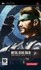 Portada oficial de de Metal Gear Solid Portable Ops Plus para PSP