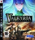 Portada oficial de de Valkyria Chronicles para PS3