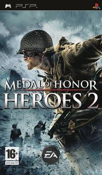 Portada oficial de Medal of Honor Heroes 2 para PSP