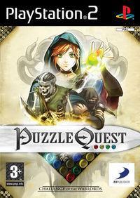Portada oficial de Puzzle Quest: Challenge of Warlords para PS2