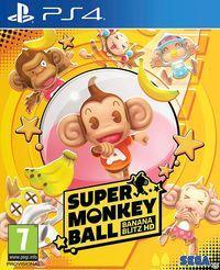 Portada oficial de Super Monkey Ball: Banana Blitz HD para PS4