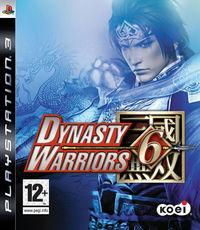 Portada oficial de Dynasty Warriors 6 para PS3