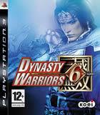 Portada oficial de de Dynasty Warriors 6 para PS3