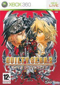 Portada oficial de Guilty Gear 2 Overture para Xbox 360