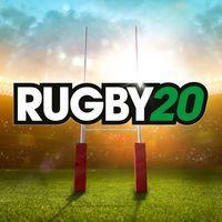 Portada oficial de Rugby 20 para PS4