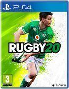 Portada oficial de de Rugby 20 para PS4