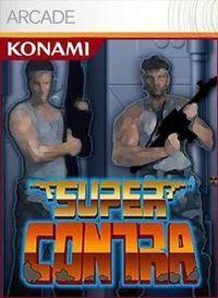 Portada oficial de Super Contra XBLA para Xbox 360