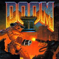 Portada oficial de DOOM II para Switch