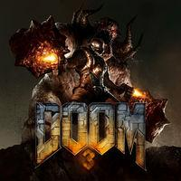 Portada oficial de DOOM 3 para Switch
