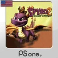 Portada oficial de Spyro 2 PSN para PS3