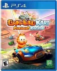 Portada oficial de Garfield Kart: Furious Racing para PS4
