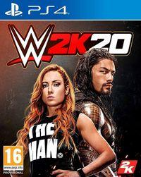 Portada oficial de WWE 2K20 para PS4