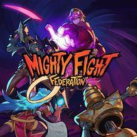 Portada oficial de Mighty Fight Federation para PS4