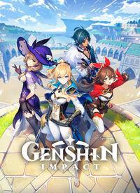 Portada oficial de Genshin Impact para PS4