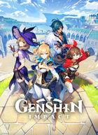 Portada oficial de de Genshin Impact para PS4