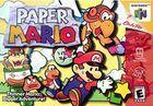 Portada oficial de de Paper Mario para Nintendo 64