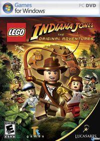 Portada oficial de LEGO Indiana Jones para PC