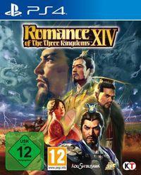 Portada oficial de Romance of The Three Kingdoms XIV para PS4