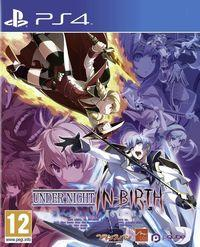 Portada oficial de Under Night In-Birth Exe:Late[cl-r] para PS4