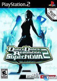 Portada oficial de Dance Dance Revolution SuperNOVA 2 para PS2