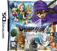 Portada oficial de Dragon Quest: La Prometida Celestial para NDS
