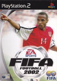 Portada oficial de FIFA 2002 para PS2