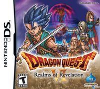 Portada oficial de Dragon Quest VI: Los reinos oníricos para NDS
