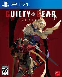 Portada oficial de Guilty Gear: Strive para PS4