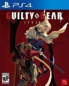 Portada oficial de de Guilty Gear: Strive para PS4