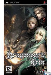 Portada oficial de Dragoneer's Aria para PSP