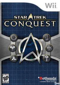 Portada oficial de Star Trek: Conquest para Wii