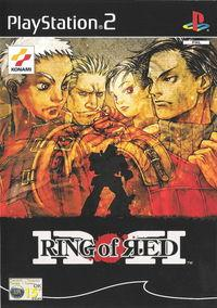 Portada oficial de Ring of Red para PS2