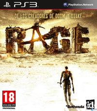 Portada oficial de Rage para PS3