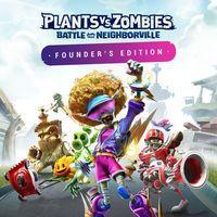 Portada oficial de Plants vs. Zombies: Battle for Neighborville para PS4