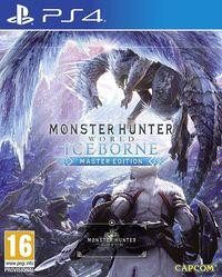 Portada oficial de Monster Hunter World: Iceborne para PS4