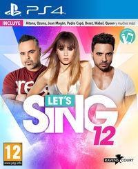 Portada oficial de Let's Sing 12 para PS4