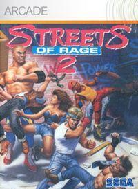 Portada oficial de Streets of Rage 2 XBLA para Xbox 360