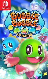 Portada oficial de Bubble Bobble 4 Friends para Switch