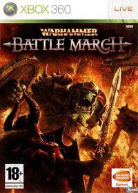 Portada oficial de Warhammer: Mark of Chaos - Battle March para Xbox 360