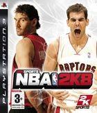 Portada oficial de de NBA 2K8 para PS3