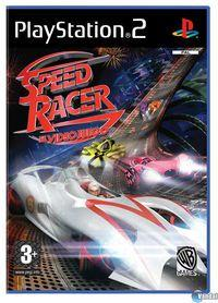Portada oficial de Speed Racer para PS2