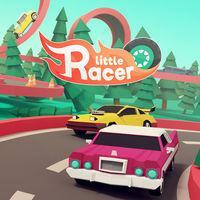 Portada oficial de Little Racer para Switch