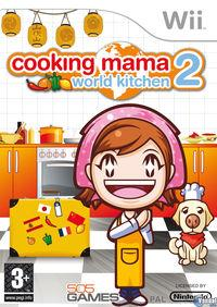 Portada oficial de Cooking Mama World Kitchen para Wii